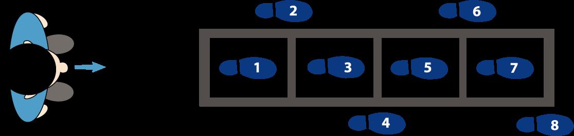 Loopladder oefeningen
